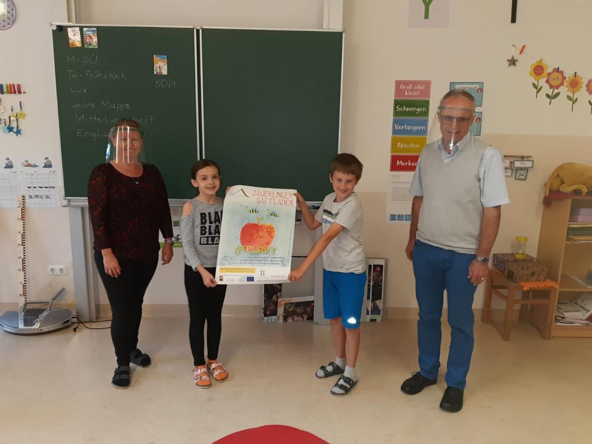 Malwettbewerb Jauerlinger Saftladen 2020
