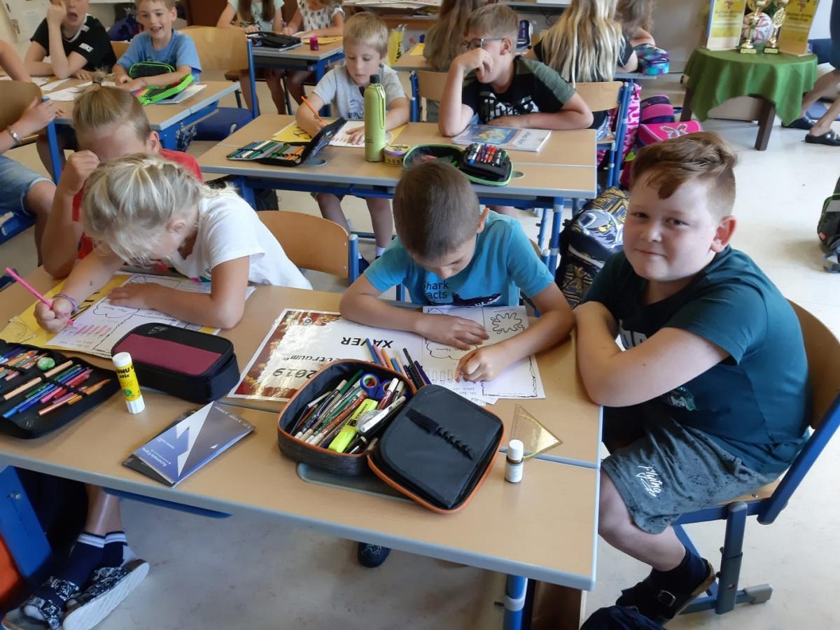 Schulanfängerbesuch am 18. Juni 2019