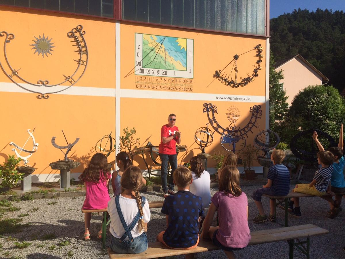 Sonnenuhrenausstellung 14.06.07