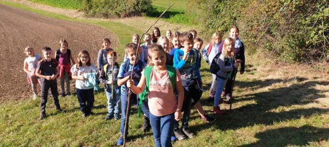 Wandertag der 2. Klasse am 9. Oktober 2020