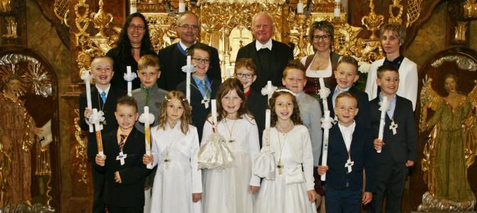 Unsere Erstkommunionskinder