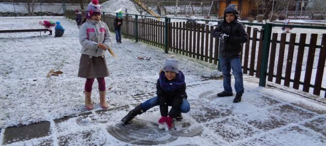 Der 1. Schnee!