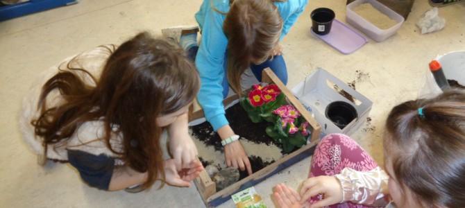Ostergarten bauen