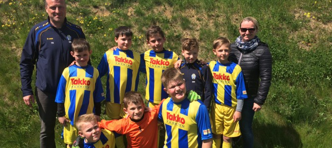 9. Platz beim Sumsi Erima Kids Cup