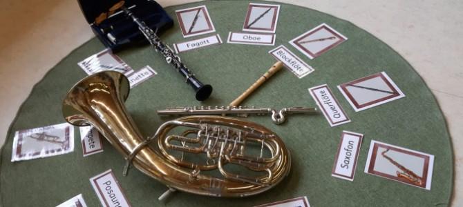 Eine Reise in die Welt der Blasinstrumente (4. Schulstufe)